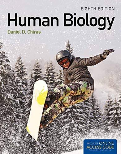Human Biology 8th Edition by Daniel D. Chiras (2013) Paperback