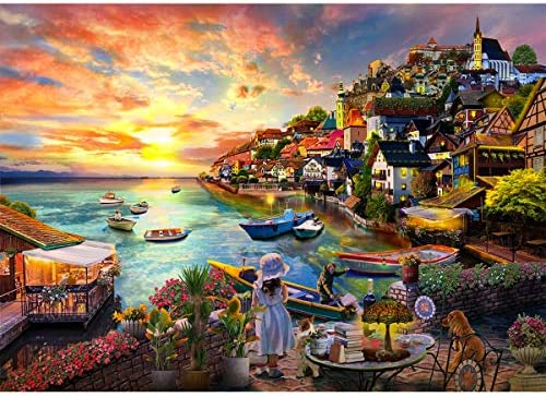 Jigsaw Puzzles for Adults 1000 Piece Puzzle for Adults 1000 Pieces Puzzle 1000 Pieces Kids Large Puzzle Game Decompression Toys