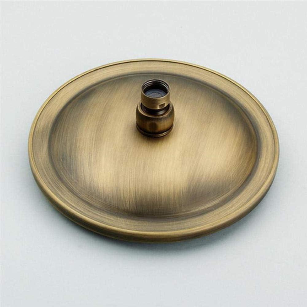 Cabezal de ducha redondo de lat/ón antiguo de/8 pulgadas/Rociador de ducha superior sobre la cabeza Top de acabado de ducha cromado