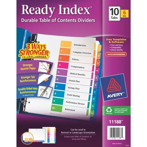 Avery Index - 2