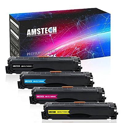 Amstech 4Pack Compatible CLT-504S CLT-K504S CLT-M504S CLT-C504S CLT-Y504S Toner Cartridge for Samsung Xpress CLX-4195FW CLP 415NW SL-C1860FW C1860 C1810 SL-C1810W CLX-4195 CLX-4195N SL-C1860FW/XAA