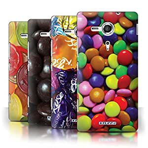 STUFF4 Phone Case / Cover for Sony Xperia SP/C5303 / Multipack (7 Pack) / Sweets & Candy Collection