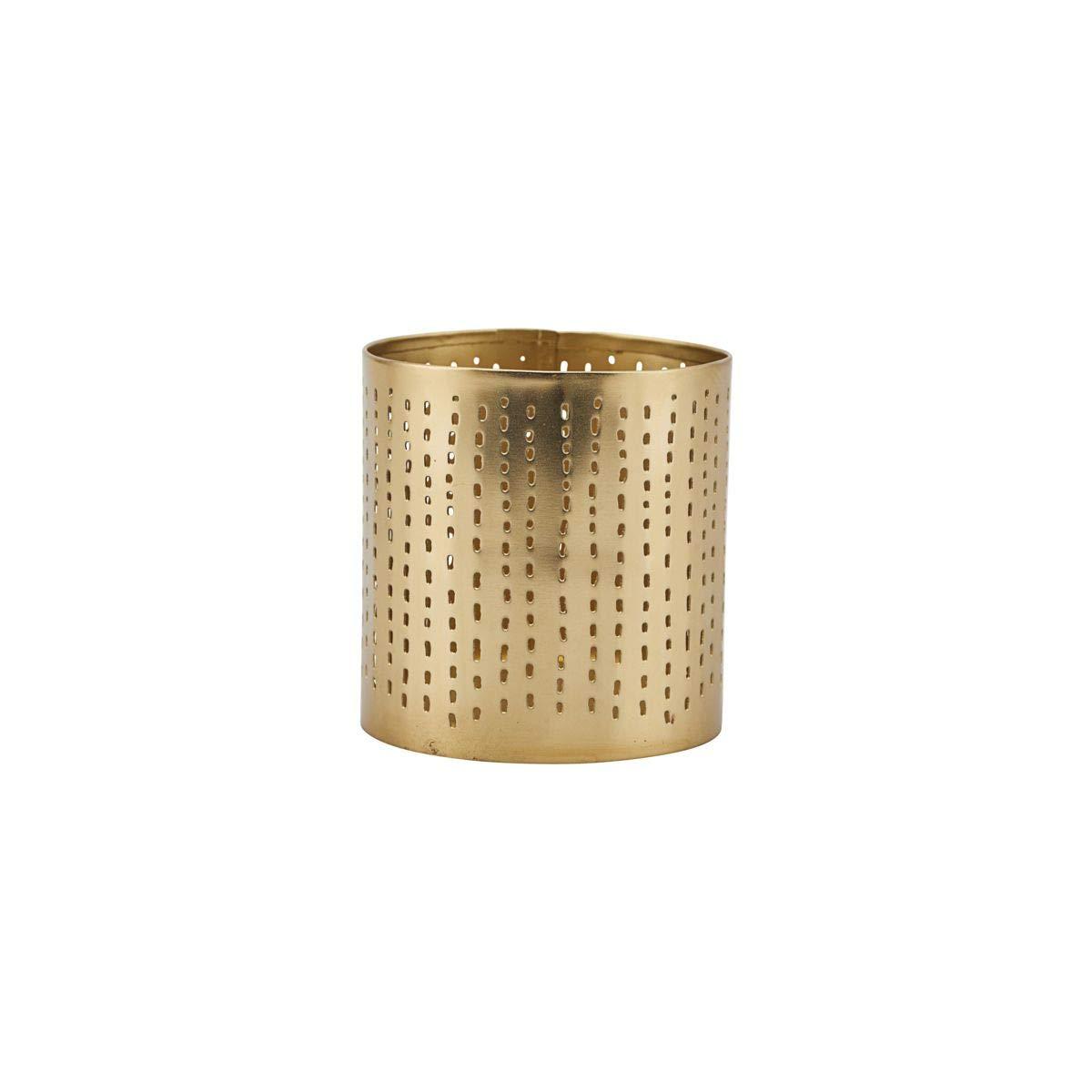 Amazon.com: House Doctor Tealight Wilma, Brass Finish, 8 x 8 ...