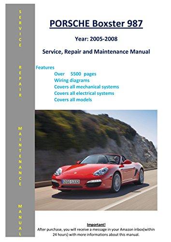 porsche 987 service manual - 2