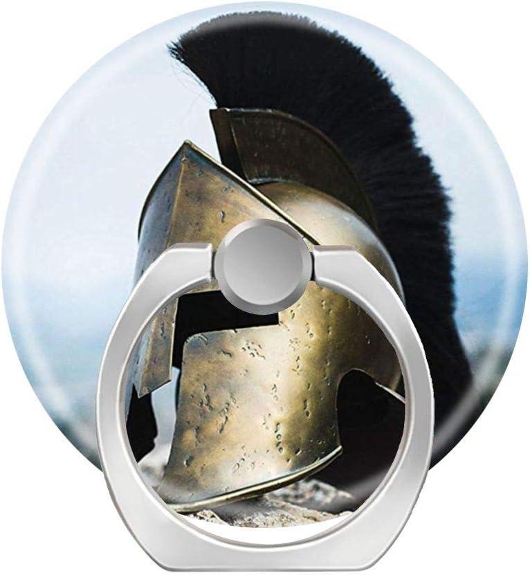 Soporte de anillo para teléfono móvil, soporte de agarre de dedo cuadrado, anillo de soporte para coche, anillo para teléfono móvil, anillo para smartphone, tableta, casco espartano, troy guerrero: Amazon.es: Electrónica