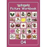 Tom's World ピクチャーワークブック04 (児童英検対策や小学校英語Hi, friends!とともに学ぶ教材としてピッタリ) [おもちゃ&ホビー]
