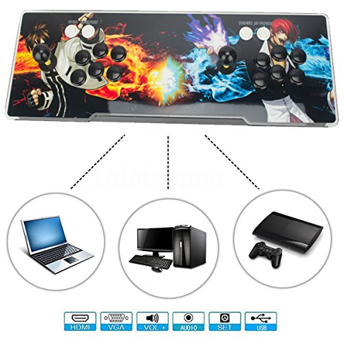 DODOING 2000 in 1 Heroes Box 5 Arcade Fight Video Classic Games Console Gamepad HDMI VGA by DODOING (Image #1)