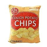 Creative simulation snack pillow plush toys 20'' (Potato chips)