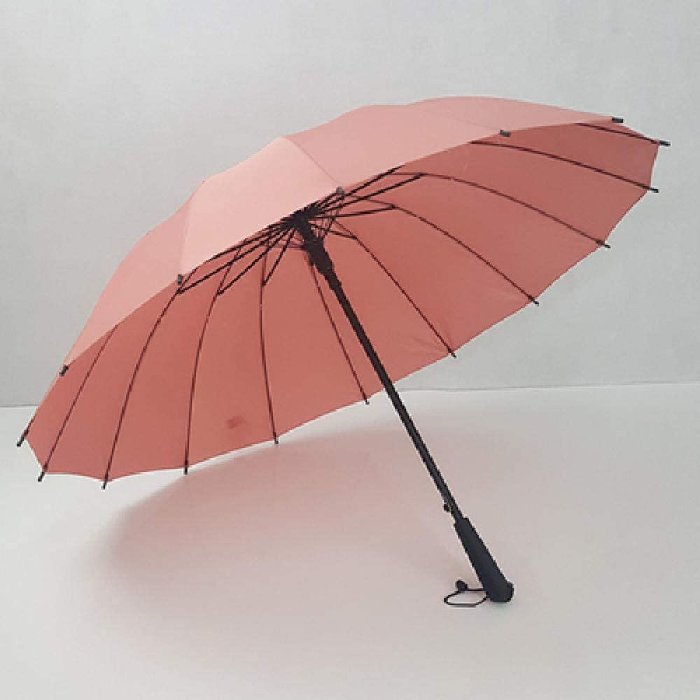 YSCY Portable/ Umbrella Dual-use Umbrella Double Automatic Umbrella Large Windproof Straight Handle Umbrella Word Long Handle Umbrella Yellow/_105cm UV/ Protection,Rust/ Prevention,Wind/ Protection.