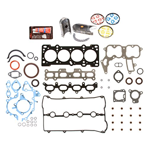 - Evergreen Engine Rering Kit FSBRR6022EVE\0\0\0 Fits 91-98 Mazda Ford Kia 1.8 DOHC BP Fits Full Gasket Set, Standard Size Main Rod Bearings, Standard Size Piston Rings