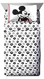 Disney Mickey Mouse Jersey White 3 Piece Twin Sheet