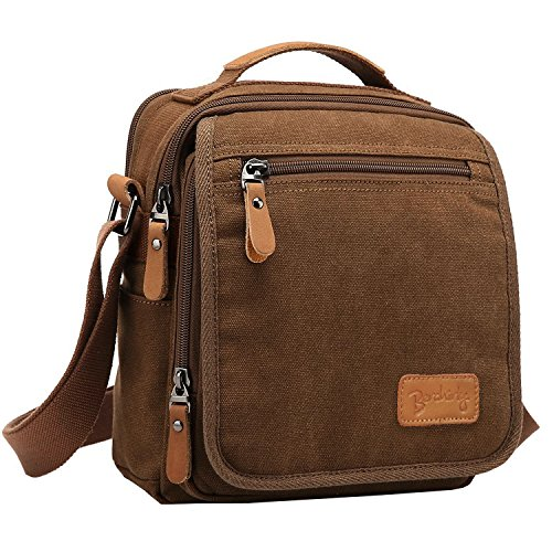 Cross Body Messenger Bag Leather - 1