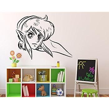 Amazon.com: Princess Zelda Wall Decal Legend of Zelda ...