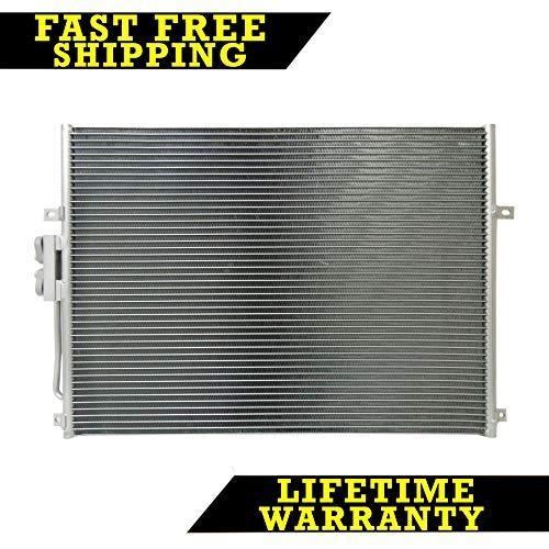 AC A/C CONDENSER FOR JEEP FITS GRAND CHEROKEE 4.7 4.0 L6 6CYL V8 8CYL ()