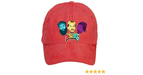 Amazon.com: Tommery Unisex Flatbush Zombies Psychedelic Wallpaper Hip Hop Baseball Caps (7506281803673): Books