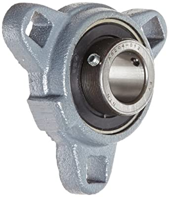 Boston Gear XL33/4 Mounted Bearing, Flange, Light Duty, 3 Bolts, 0.75 Bore