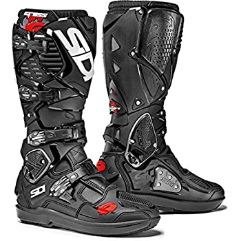 8ea622b4b48d1 Amazon.com  Sidi Crossfire 2 SRS CE Black Grey Motocross Enduro ...