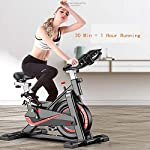 Zavddy-SP-Spin-Bike-Mobile-Bike-Ultra-Quiet-Home-Auto-Fitness-Pedale-Indoor-Sports-Bike-Esercizio-aerobico-Indoor-Bike-Fitness-Training-Cardio-Spin-Bike-Esercizio-di-Bicicletta-Colore-Nero