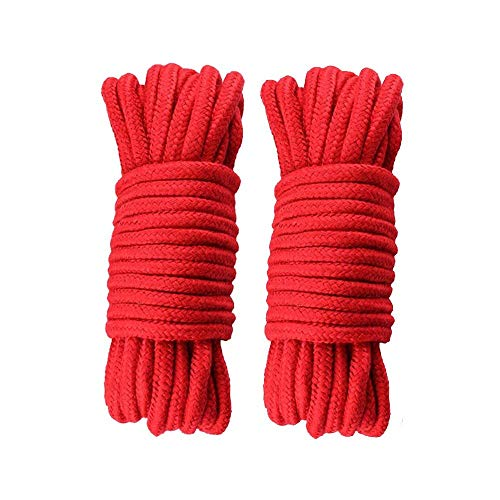 Soft Cotton Rope-32 Feet Length/10m, Durable Utility Long Rope