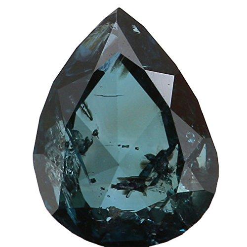 0.43 Ct Pear Diamond - 7