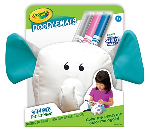 Crayola Doodlemals Washable Elephant Ultra Clean
