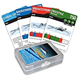 Fitdeck Exercise Playing Cards for Guided Sports Workouts, Swimming