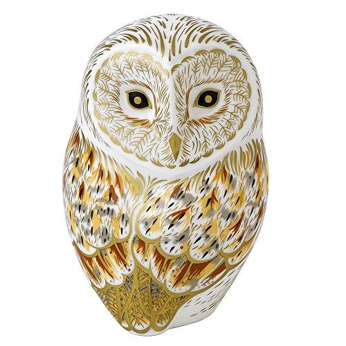Royal Crown Derby WINTER OWL BIRD