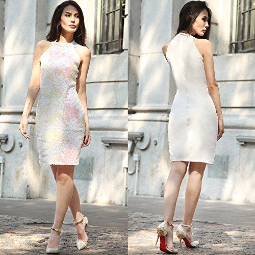 Fiesta De Vestido JIALELE Mujer Vestido Vestidos La Fiesta El Para Vestido Blanco Para Vestuario Mujer Mujer De xUO4Uw8I