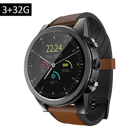 Reloj Inteligente Rastreador De Ejercicios Android Tarjeta 4G Completa Y Redonda Pantalla 1.6 Pulgadas 16G/