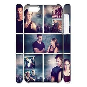 3D IPhone 5C Cases Divergent Insurgent Allegiant, Divergent [White]