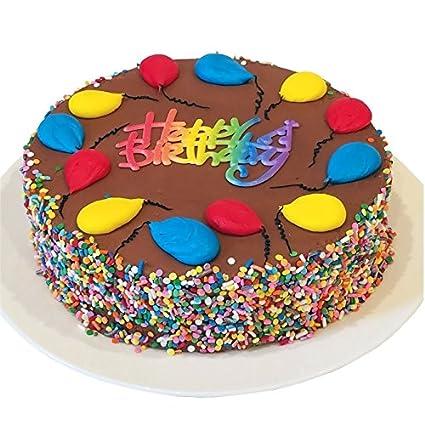 TRIOLO S de la panadería Feliz cumpleaños Chocolate Fudge ...