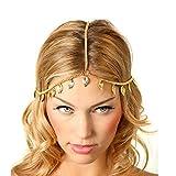 Changeshopping(TM)Women Leaf Tassels Head Chain Headband Headpiece Hairband Jewelry Gift