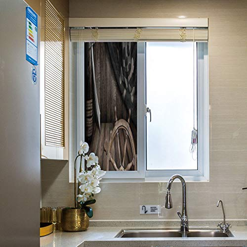 YOLIYANA Modern Glass Window Film No Glue Privacy Window, used for sale  Delivered anywhere in USA