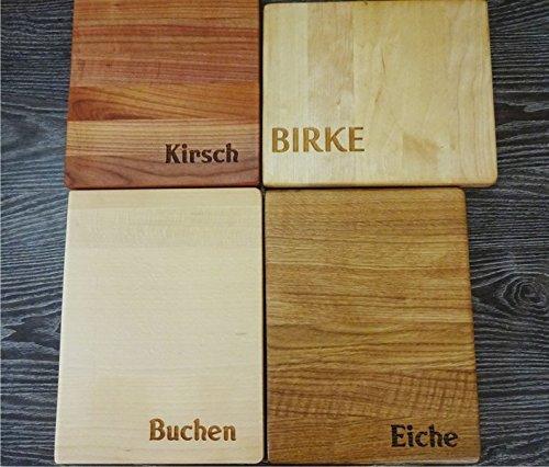 Fr/ühst/ücksbrettchen Schaukel V/ögel und Herzchen Personalisiertes Schneidebrett Handgefertigt mit Baum
