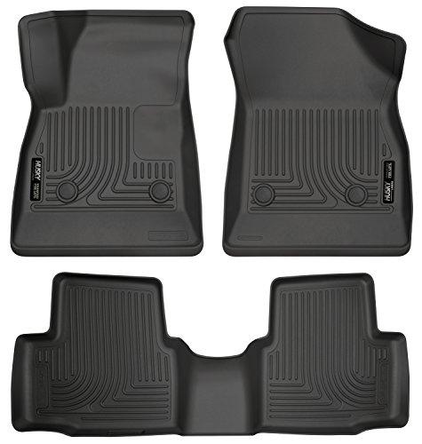 Husky Liners 99161 Black Front & 2nd Seat Floor Liners Fits 16-19 Chevrolet Cruze