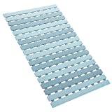 Slip Resistant Shower Mat OTHWAY Bathroom Bath Mat Strong Suction Cups Great Drainage Mildew Resistant Bath Rug
