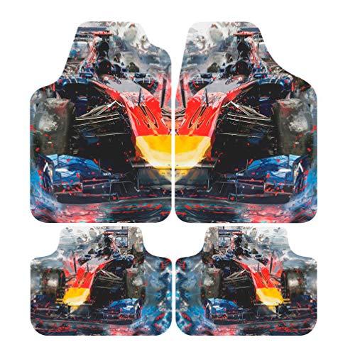 Jogo de Tapetes Titanium Multicolorido AT 05 03 comp. Universal