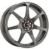 Drag Wheels DR-33 15x7/ 4x100/ 4x114.3 Gun Metal Full rims