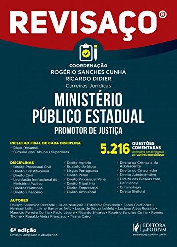 Ministério Público Estadual: Promotor de Justiça