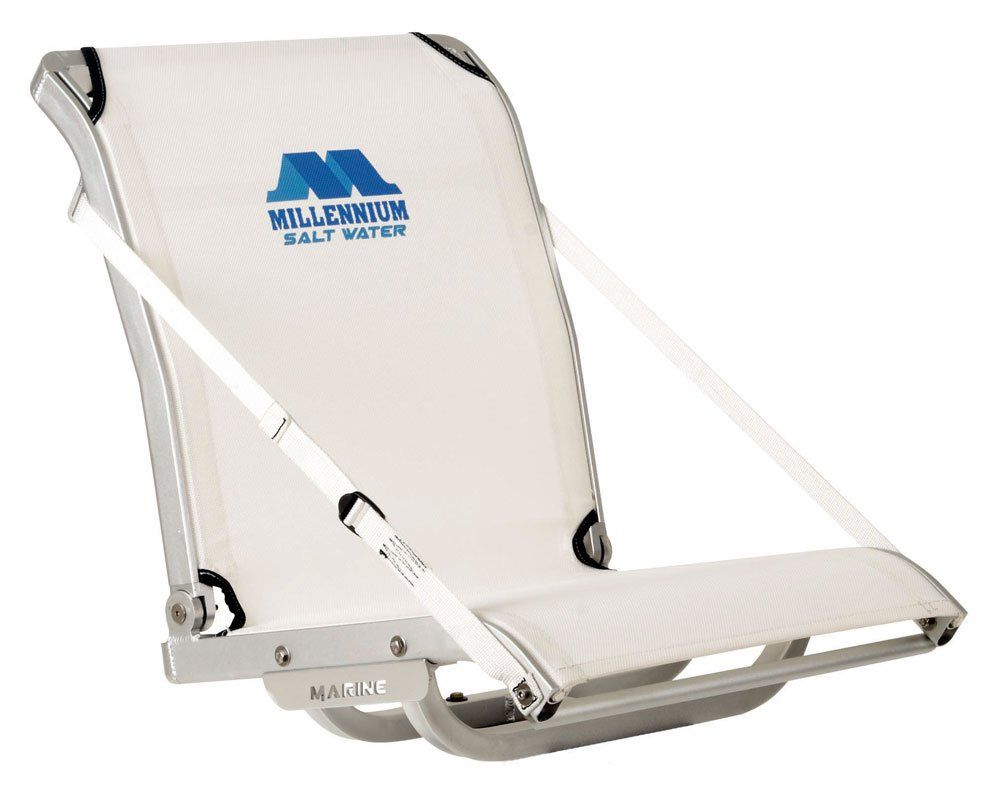 Millennium Marine SW-100 Boat Seat, White by Millennium Marine