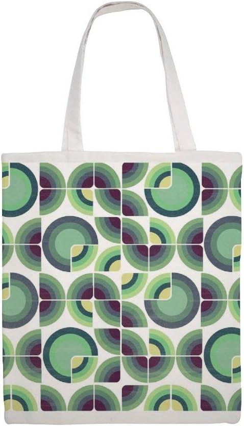 Bolsa de lona de algodón, diseño de campos verdes: Amazon.es: Hogar
