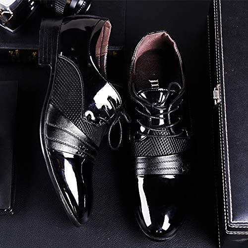 Hombres Artificiales Cuero Vestir Para Blancos Zapatos 45 46 De Negocios R Brown Pu Boda Tamaño Clásicos Negros Formales Lona zapatos Colores negro Tela 48 La 47 Cn fnqYIw0n