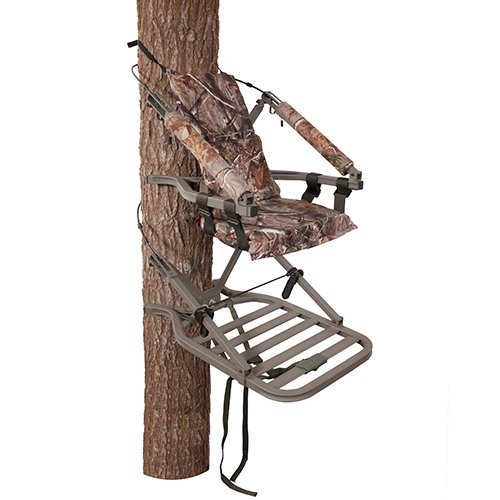 Summit Treestands Explorer SD Open Front Climbing Stand Explorer Padded Seat