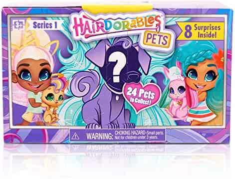 Hairdorables Pets Set - Series 1 (Styles May Vary)