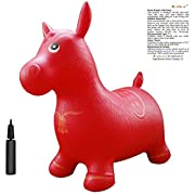 Apple Round Global Trading LLC Red Horse Hopper, Pump Included