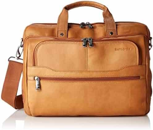 Samsonite Colombian Leather 2 Pocket Business Case