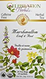 CELEBRATION HERBALS Marshmallow Leaf & Root Organic 24 Bag, 0.02 Pound For Sale