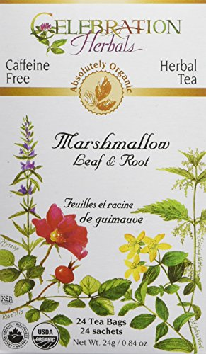 CELEBRATION HERBALS Marshmallow Leaf & Root Organic 24 Bag, 0.02 Pound ()