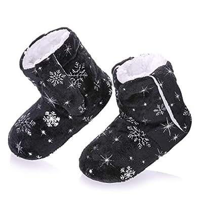 Amazon.com | RONGBLUE Kids Girls Boys Christmas Snowflake
