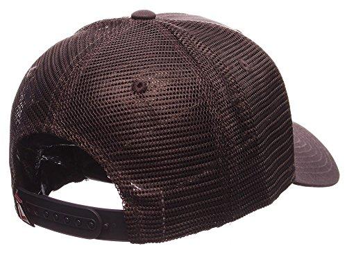 556f3ee6b8f University of Georgia Bulldogs UGA Landmark Grey Zephyr Cap Hat ...